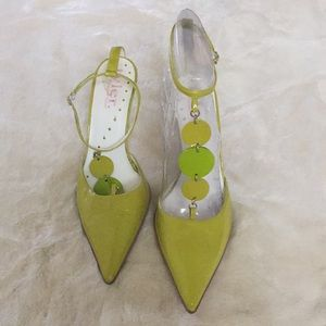 Richard Tyler Lime Green Shoes